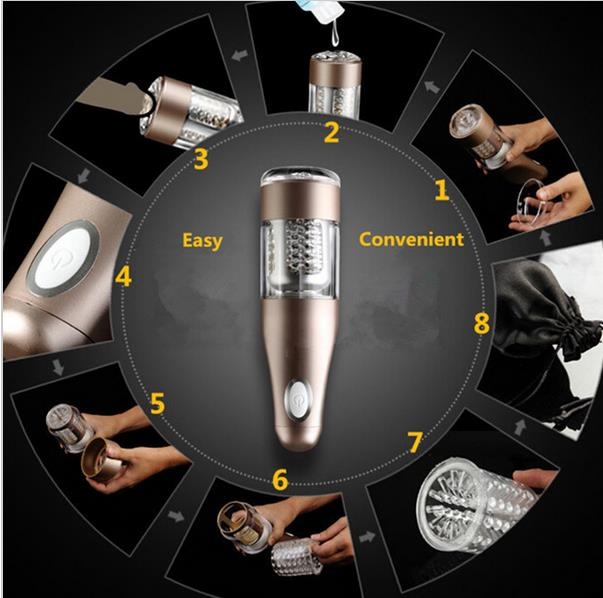 Male automatic masturbator machine,telescopic rotation masturbation cup,sex vagina anal masturbator for man erotico toy<br>