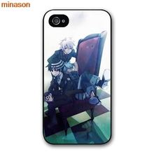 minason Soul Eater Anime Head Cover case for iphone 4 4s 5 5s 5c 6 6s 7 8 plus samsung galaxy S5 S6 Note 2 3 4 H3045(China)