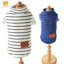 Striped Pet Shirt Cotton Vest Puppy Brand T Shirts Summer Dog Clothes For Small Dogs Shirts Cat Clothing Chihuahua  DOGGYZSTYLE