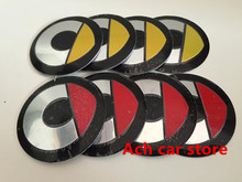 4pcs Free shipping 56.5mm smart badge Decal wheel center hub caps emblem stickers Car styling Auto accessories