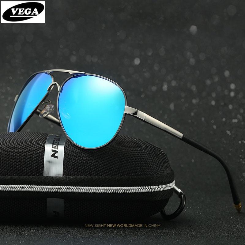 VEGA Designer Air Force Pilot Glasses Polarized Men Women Black Polarized Sunglasses Classic Aviators 8503<br><br>Aliexpress