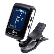 2016 hot sale fashion Clip-on Guitar Tuner For Electronic Digital Chromatic Bass Violin Ukulele LCD very nice
