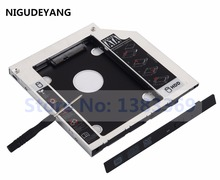 NIGUDEYANG SATA 2nd SSD HDD Drive Caddy Adapter for Dell Inspiron 15 17 5000 7000 5748 5749