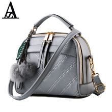 Aitesen 2017 Women Messenger Bags Lady Cute Michael Handbags Girls Shoulder Bag Bolsas Gray Pink Black Blue Beige Sac A Main