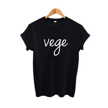 Buy Vege T Shirt Funny Hipster Women Clothing Japanese Harajuku T-shirt Women Tops Female vegetarian Tee shirt femme for $7.89 in AliExpress store