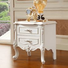 Luxury French Style Night stand  high quingity french wood antique bedside
