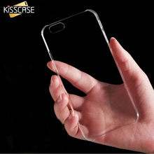 KISSCASE For iPhone 6 6S Plus Slim Crystal Clear Hard Phone Case For iPhone 6 6S For iPhone 6 Plus 6S Plus Transparent Cover Bag