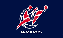 Free Shipping NBA banner Basketball flag 3 * 5ft wizards team flags and banners