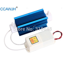 Silica Tube Ozone Generator 10g with Aluminum Alloy Heat Sink  For Water Sterilization and Air Deodorization +Free Shipping