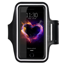 Running Sports Mobile Phone ArmBand For iPhone 7 6 6S 5s 5 SE Case General Fitness Gym Bag Arm band Men Women Wrist Arm bag 4.7""