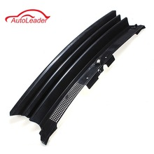 Black Badgeless Debadged Front Sports Grille Grill ABS plastic For VW /GOLF 4 MK4 1997-2004