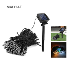 LED Garden light Waterproof Outdoor 7M/12M/22M LED Solar String Decor Holiday Patio Landscape Wedding Party Christmas Lawn lamps(China)