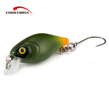 1pc, Crank Bait Plastic Hard Lures 30mm, Salmon Fishing Baits, Crankbait With Single Hook,  Wobblers, Freshwater Fish Lure