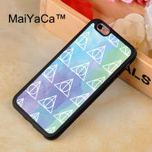 Buy MaiYaCa Harry Potter Deathly Hallows Watercolor Case iPhone 8 Coque Soft TPU Back Cover iPhone 8 Phone Cases for $4.55 in AliExpress store