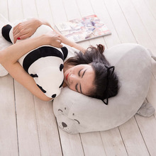 Cat Panda Seals Penguin Super Soft  Animals Plush Sweet Lovely Stuffed Dolls Baby Kids Toys for Boys Girls Birthday Kawaii Gift