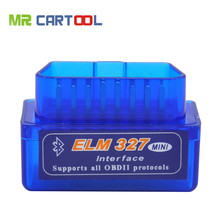 Top-rated V1.5 Super Mini ELM327 Bluetooth OBDii / OBD2 Wireless Mini ELM327 CANBUS Support All OBD2 Model Free Shipping(Hong Kong)