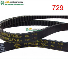 belts 729 17.5 30 Gates Powerlink 729-17.5-30 CVT Drive Belt for Most GY6 50cc 139QMB Scooter Moped,Sunl, Tank, TNG, Vento, VIP(China)