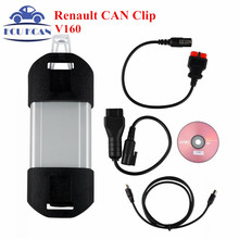 For Renault Diagnostic Tool Professional Car Scanner Multi-Languages For Renault Can Clip Diagnostic Interface Free Shiping