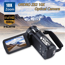 ORDRO HDV-Z82 3.0 Inch TFT LCD Touch Screen 1080P HD Camcorder Hot Shoe 24MP 10XAnti-shake CMOS Optical Zoom Camera(China)