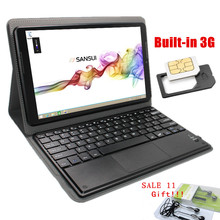 Glavey Sale 11 windows 8.1 with keyboard+leather case 10.1inch intel 1/16GB WIFI HDMI Dual Cameras 5.0MP tablet pc 3G Compatible(China)