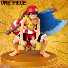Anime One Piece Film GOLD Monkey D Luffy Axe Ver.13cm PVC Action Figure Resin Collection Model Toy Gifts Cosplay