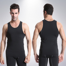 Summer Gym Tank Top Running Tights Men Bodybuilding Sleeveless Shirt Sports Muscle Tops Fitness Compression Jogging Vests(China)