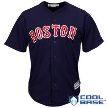 MLB Men's Boston Red Sox Baseball White Home Cool Base Team Jerseys(China)