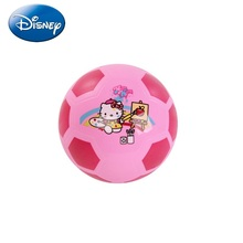 Disney Children Football Kid Hello Kitty Small size 2 Outdoor Sports Family kid Hellokitty Cat Football HAB40473(China)
