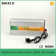 MKM1000-122G-C 1000w power inverter with battery charger,electric power inverter 1000w 12v 220v inverter for sale