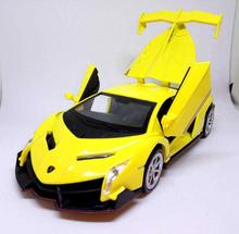 1/32 Alloy Car Model, Die Cast Vehicles, 3 doors, W/Light and Music,Toys Car Four Doors Open, Free Shipping
