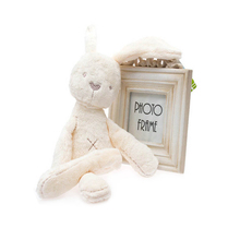 50CM Cute Rabbit Plush Toys Bunny Plush Toys Stuffed Animal White Dolls Best Gift for Kids(China)