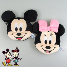 New 12cm Minnie Mickey Plush Toys for Kids Coin Purses Bag Pendant Kids Gifts(China)