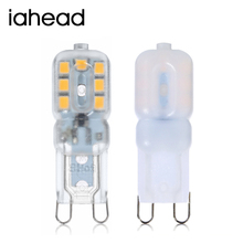 Iahead Mini G9 LED Lamp 5W 220V 240V Bombillas LED G9 Bulb LED Light Lampadas SMD 2835 Crystal Chandelier Replace Halogen Lamp