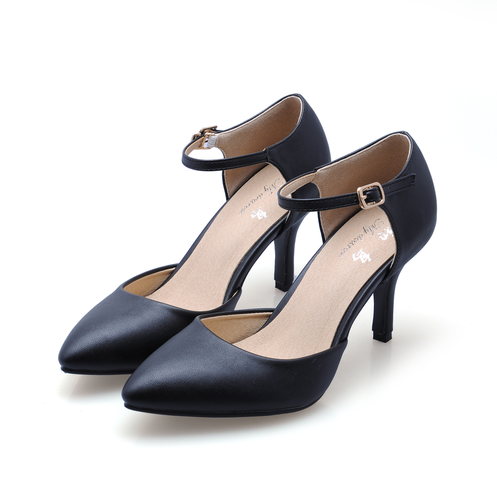Women Pumps Shoes 2017 New Fashion Sexy Women Red Black White Wedding Shoes Pointed Toe Pumps Two Piece High Heels SMYCN-C0026<br><br>Aliexpress