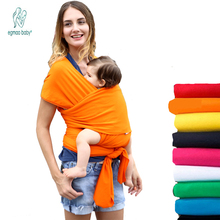 19 Colors Baby Sling Ergonomic Baby Carrier Cover Backpack Breathable Hipseat Nursing Cover Cotton Soft Baby Wrap 0-3 Years(China)