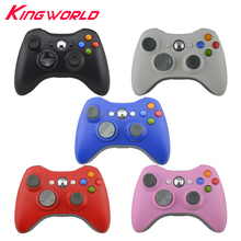 100pcs High Quality Wireless gamepad Joypad joystick 2.4G Game Remote Controller for Microsoft for Xbox 360 Console(China)