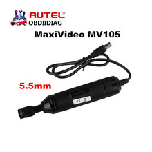 Autel MaxiVideo MV105 Digital Inspection Cameras work with MaxiSys Series & PC with Image Head 5.5mm video inspection scope(China)