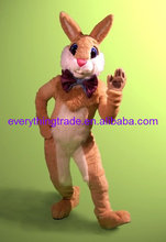 New arrival 2014 Cartoon Character professional mascot walk around Easter bunny costume for Mall or church