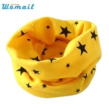Womail  Good Deal  New Good Quality Autumn Winter Boys Girls Warm Soft Collar Baby Scarf Cotton O Ring Neck Scarves Gift 1PC*12