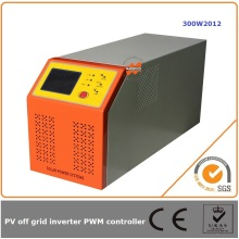 300W 12V 20A off grid solar charge controller and inverters with grid power to charge battery(UPS)
