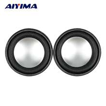 Aiyima 2pcs 4ohm 3w 40mm antimagnetic Speaker small Sound accessories loudspeaker(China)