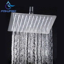 "Free Shipping Wholesale And Retail 8"" Chrome Brass Shower Head Over-head Shower Sprayer Top Shower Head Wall / Ceiling Mounted(China)"