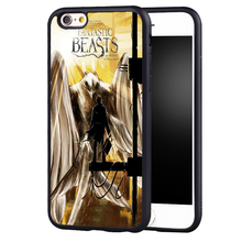 Fantastic Beasts and Where to Find Them Soft Rubber Phone Case For iPhone 6 6S Plus 7 7 Plus 5 5S 5C SE 4 4S Back Cover Shell