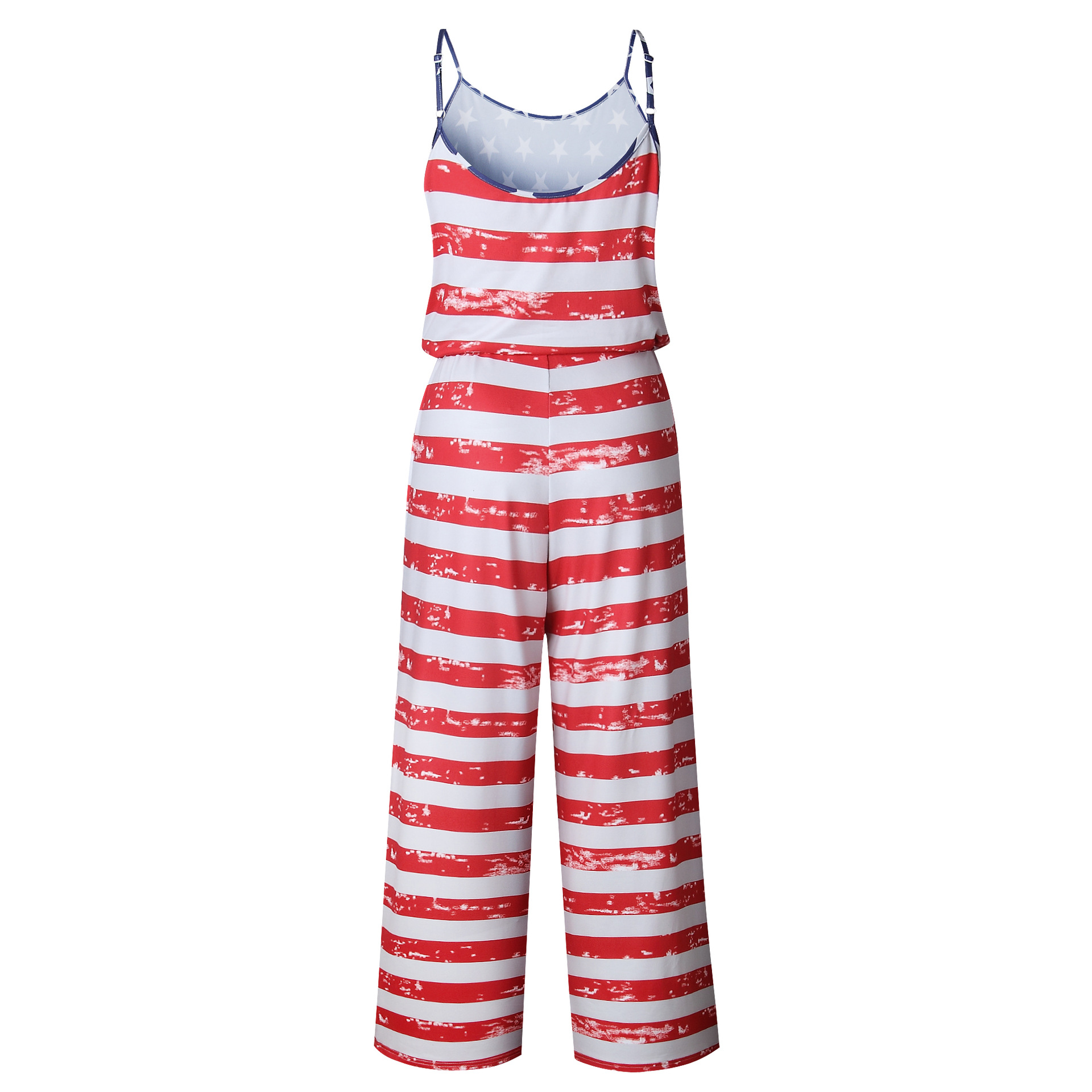 Spaghetti Strap Jumpsuit Women 2018 Summer Long Pants Floral Print Rompers Beach Casual Jumpsuits Sleeveless Sashes Playsuits 72