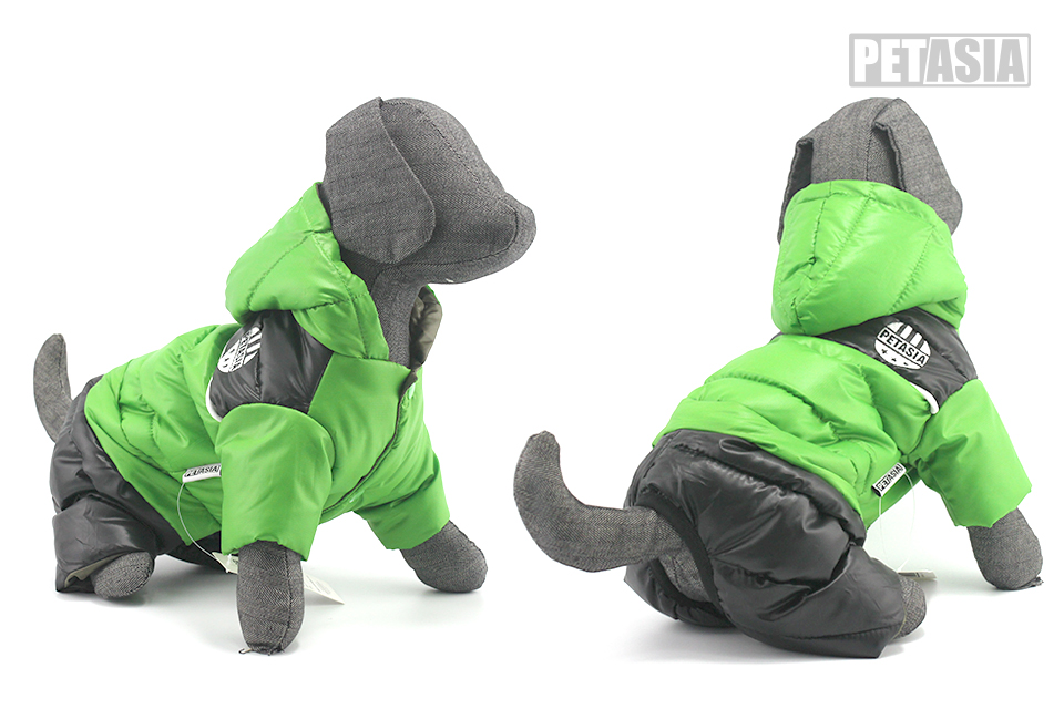 New Winter Dog Clothes Warm Pet Dog Winter Clothes Waterproof Coat Jacket Cotton Jumpsuit for Chihuahua Small Large Dogs PETASIA 606