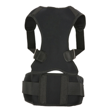 Back Posture Corrector Back Support Belt Brace for Men & Women Adjustable Clavicle Lumbar Support Improve Posture Pain Relief(China)