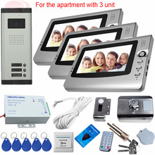 Sunflowervdp Video Intercom Kit For A Private House Video-eye Rfid Electronic Door Lock Door Intercom Camera Smart Home In Stock