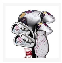 New golf clubs set women Left Graphite maruman Fl 3Woods+8irons+1Putter+bag+ HeadCover Lady Classic Luxury(China)