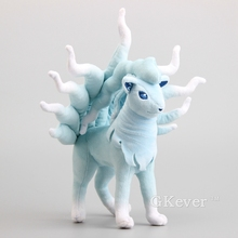 "High Quality  Doll Rare Alola Ninetales Plush Toy Soft Stuffed Animals Children Gift 10"" 25 CM"