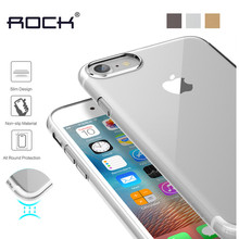 Rock Clear Cover for iPhone 8/ 7 Plus Case Silicone Crystal Back Cover for iPhone7 Plus Case Transparent Clear Protective Shield